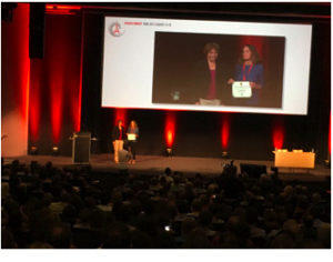 Jill Banfield (Co-Leader, Project 6) received the V. M. Goldschmidt medal,the highest honor by the Geochemical Society, at the Annual V.M. Goldschmidt Conference, in Paris, France (August, 2017)
