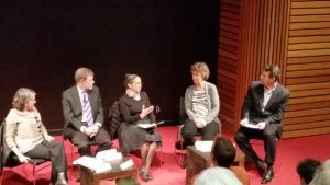 Panel discussion during the Climate Change conference (Nov 2017)